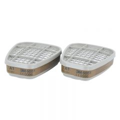 3M 6051 Gas and Vapour Filter (1 Pair)