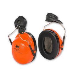 3M PELTOR H31 Ear Defenders, Helmet Mounted (Orange)