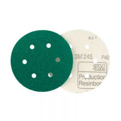 3M 00761 Stikit Disc 245 150mm P80 Holed - Pack of 100
