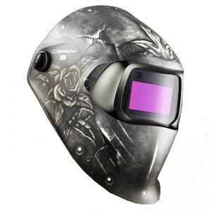 3M Speedglas 100 Welding Helmet - Steel Rose (Discontinued)